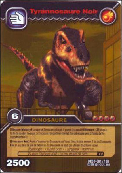 Dinosaur king le carnage des dinosaures noirs fran ais animation - Carte dinosaure king ...
