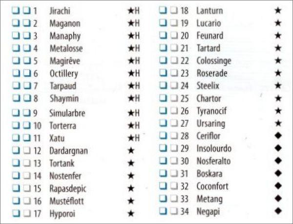 jeux de carte liste Carte : Liste Jeu De Carte