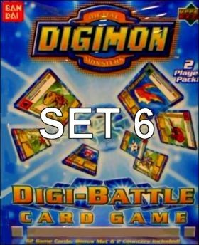 Digimon - Digi-Battle - Série 06 - Français