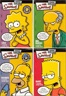 The simpsons - Trading card game