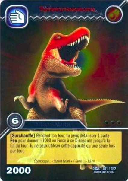 Dinosaur king kit de d marrage edition de base fran ais animation - Carte dinosaure king ...