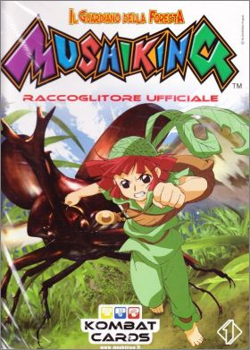 Il guardiano della foresta Mushiking - Cards - Italie