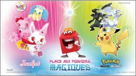 Pokémon - Cartes Happy Meal - Mc Donald - 2012