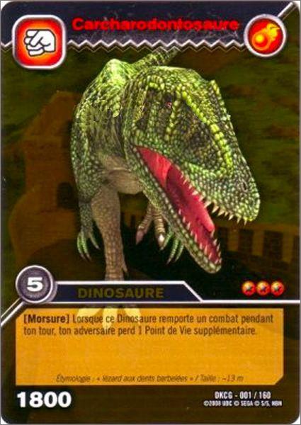 Dinosaur king edition de base fran ais animation bd th mes - Carte dinosaure king ...