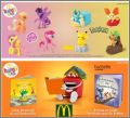 Pokémon - Cartes Happy Meal - Mc Donald - 2015